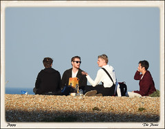 5. THE PICNIC (Poppy ♥ Cocqué ♫) Tags: ap poppy picnic group men people outdoors outside