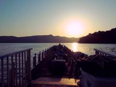 Lake Ashi 芦ノ湖 (: : Ys [waiz] : :) Tags: ricoh grd grd4 神奈川県 kanagawa 箱根 箱根町 hakone 芦ノ湖 lake water sunset 日本 japan