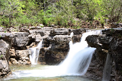 Long Creek Falls (AS_Roma_4) Tags: nature waterfall hercules glades mark twain national forest rocks water trees shrubs creek blue grey green brown