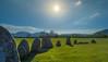 Sun Star at Stone Circle (rickywinborn) Tags: stones stonecircle lakedistrict sunstar bright brightsun