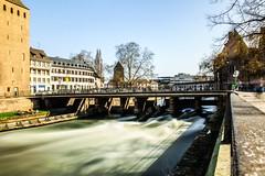 Water under the bridge (fannymejean) Tags: mouvement eau bridge pont france strasbourg