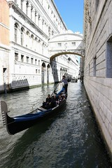 Bridge of Sighs (gImrtn) Tags: gondola venice venezia italy italia bridge canal water palace sunny