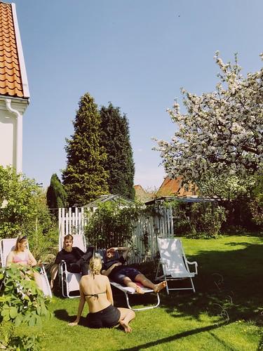 Trädgårdshäng