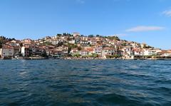 Macedonia - Lake Ochrid (Bogdan J.S.) Tags: europa europe bałkany balkans macedonia ochrid ochryda ochridlake jezioro lake woda water miasto town niebo sky horyzont skyline krajobraz landscape sceneria scenery