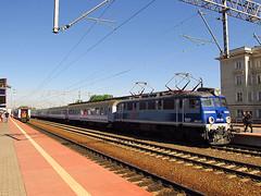 EP07-537, PKP IC (transport131) Tags: pociąg train gdynia główna pafawag ep07 pkp ic
