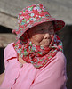 Village Life: Listening to a Friend (allentimothy1947) Tags: chenglong taiwan hat red traditional villager women rural listenin villagelife pink kohou township yunlincounty tradition clothing old aged