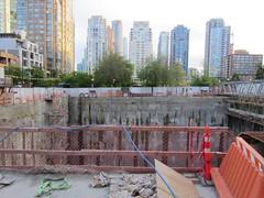 IMG_8460 1111 Richards Street excavation (vancouverbyte) Tags: vancouver vancouverbc vancouvercity 1111richards