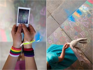 love and rainbows