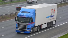 8971 HTP (panmanstan) Tags: scania r440 wagon truck lorry commercial international freight transport haulage vehicle a1m fairburn yorkshire