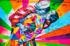 Are You Still Living There on Your Estate of Sorrow (Thomas Hawk) Tags: america kobra manhattan nyc newyork newyorkcity usa unitedstates unitedstatesofamerica graffiti kiss streetart fav10 fav25 fav50