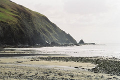 Wales, 1999 (elevenmonthsinexile) Tags: aberystwyth beaches chinongenesisiii clarach film nature wales wales1999