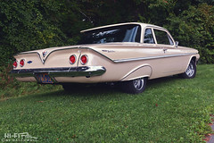 1961 Chevy Bel Air (Hi-Fi Fotos) Tags: 61 1961 chevrolet belair beige vintage 60s american classiccar style design chrome nikon d7200 dx hififotos hallewell