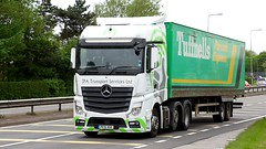 PF15 XOC (Martin's Online Photography) Tags: mercedes actros truck wagon lorry vehicle freight haulage commercial transport a580 leigh lancashire mp4 nikon nikond7200
