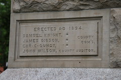 Wood County Courthouse, 1894 (Bowling Green, Ohio) (cseeman) Tags: woodcounty woodcountyohio woodcountycourthouse courthouse bowlinggreen bowlinggreenohio ohio governmentbuilding government building historicbuildings ohiohistory dragons relief memorials warmemorials woodcountywarmemorial