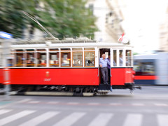 Doorman (CoolMcFlash) Tags: candid panning street streetphotography tramway tram vienna drive motion blur person man city traffic fujifilm x30 mitziehen strase bim strasenbahn wien fahren bewegungsunschärfe mann stadt verkehr fotografie photography old retro