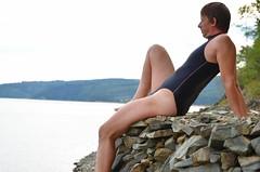 Plavky Speedo Hydrasuit_061 (mermanpetleotard) Tags: plavky jednodílné onepiece swimsuit swimwear einteiligen badeanzug badeanzüge maillots de bain lycra spandex leotard trikot