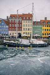 Nyhavn - Trip to Copenhagen (Merlijn Hoek) Tags: kopenhagen copenhagen trip citytrip city denemarken denmark ship boat water building sky colours colors ico