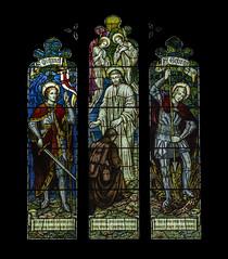 St Michael & St George (badger_beard) Tags: linton mary virgin church cambridgeshire cambs south cambridge haverhill