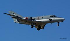 Dassault Falcon 10MER n° 185 ~ 185  Marine (Aero.passion DBC-1) Tags: spotting lbg 2010 dbc1 david biscove bourget aeropassion avion aircraft aviation plane airport dassault falcon 10 mer ~ marine