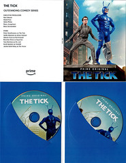 THE TICK FOR YOUR CONSIDERATION EMMY 2018 DVD (vsndesigns) Tags: beta the tick vs arthur sentinel prime optimus successor townsend coleman lego minifig minifigure dcon 2014 ball mylar balloon buttons bonanza pencil indie shocker gbjr toys with tie and tshirt zombie in a steel box fox promotional totally kids magazine 45 club spoon taco bell meal commercial eli stone ben edlund little wooden boy comic book merchandise rare limited edition 80s 90s collector museum naked super hero heroine collection photo screen text