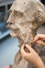 Atelier Sculptures (2018) (Institut national du patrimoine) Tags: sculptures inp2015247 gelaqueux geldargile nettoyage plâtre