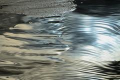 Eau de soie (Corinne Queme) Tags: reflet eau plage sable abstrait minedor pénestin bretagne soie