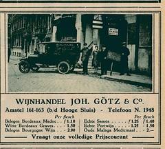 de stad Amsterdam 1923  adv Götz (janwillemsen) Tags: advertising amsterdam 1923 magazineillustration