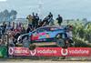Dani Sordo provides a photo op (Jim Waldron) Tags: rallyportugal wrc shakedown danisordo hyundai
