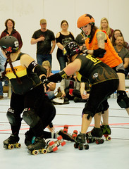 242 (Bawdy Czech) Tags: lcrd lava city roller dolls spit fires basin bombers bend or oregon april 2018 skate derby wftda flat track bout