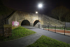 James Bridge Aqueduct, Darlaston 19/01/2018 (Gary S. Crutchley) Tags: james bridge darlaston canal aqueduct uk great britain england united kingdom urban town townscape walsall walsallflickr walsallweb black country blackcountry staffordshire staffs west midlands westmidlands nikon d800 history heritage local night shot nightshot nightphoto nightphotograph image nightimage nightscape time after dark long exposure evening travel street slow shutter raw