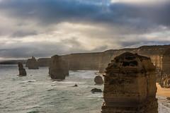 12 Apostles Air (GlennDeveron20) Tags: 12 twelve apostles sea ocean water sunset shore rock formation waves seaside cliff stone australia great road national park