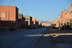 Boumalne, Morocco (meg21210) Tags: boumalne morocco street road town architecture buildings houses shadow light contrast mountains atlas highatlas