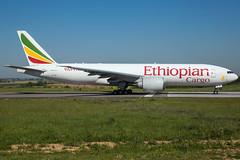 Ethiopian Airlines B777-F60 ET-ARI (wapo84) Tags: ethiopianairlines lgg eblg b777 etari
