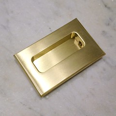 Flushpull - Satin Brass (CBH-345) (The Door Store) Tags: vintage salvage antique reclaimed original unique used period era classical traditional aged historic old oldfashioned worn secondhand rustic door store doorstore thedoorstore toronto ontario canada