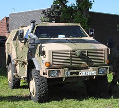 Dingo (Schwanzus_Longus) Tags: delmenhorst vehicle modern truck military army bundeswehr mercedes benz unimog dingo atf