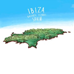 Modern Island Map of Ibiza, Spain (Hebstreits) Tags: 3d abstract art atlas background balearic beach border cartography cartoon concept contour country design element europe geography gps graphic ibiza icon illustration infographic island islands isolated land line map maps mediterranean modern mountain region sea silhouette spain spanish symbol template travel vector volcano water white