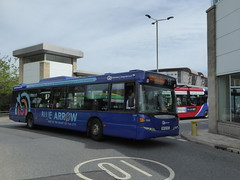 Go North East 5269 NK56 KKE on 11, Gateshead Interchange (sambuses) Tags: gonortheast bluearrow 5269 nk56kke