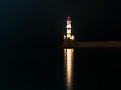 Chania lighthouse (George Marinakis) Tags: greece lighthouse oldport port chania sea seascape reflection crete