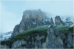 Neige de Mai, Vercors (Archiane) ([JBR]) Tags: vercors snow landscape calcaire paysage montagne mountain montaña blanc white blanco falaise cliff roche pierre piedra stone cold froid frio weather temps may mayo mai 2018 55 555 pentax jbrphotography jbr nature natural light lumiere texture neige nieve naturaleza flickrunitedaward