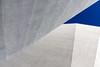 Ce n'est pas une fin en soi / It's not an end in itself (fidgi) Tags: lille architecture abstract abstrait béton concrete ciel sky bleu blue gris grey white blanc diagonale diagonal canon canoneos5dmk3 tamron lignes lines wall mur minimalism