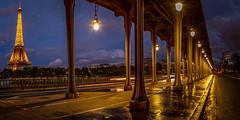 Pont Bir Hakeim (photoserge.com) Tags: photowalk composition night photography reflection eiffeltower panorama