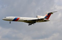 OM-BYO Tupolev Tu-154M Slovakia Government Flying Service (LIL/LFQQ) (geoffrey.zdcki) Tags: lil lfqq landing lilleairport lille spotter spotting ombyo tupolev154 slovakiagovernment nikon tupolev euro2016