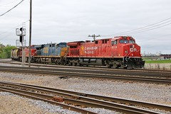 The Shape of CP To Come (BravoDelta1999) Tags: canadianpacific cp rail milwaukeeroad milw railroad metra metx milwaukeedistrict westline cmsubdivision elginsubdivision tower b17 bensenville yard illinois interlocking ge ac44cwm 8118 8100 csxt csx transportation es44ah 280 manifest train