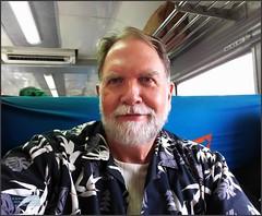 Padang Pariaman Train 20180107_095010 LG (CanadaGood) Tags: asia seasia asean indonesia indonesian sumatra westsumatra sumaterabarat padang pariaman railway keretaapi people person train selfie gregory canadagood 2018 thisdecade color colour