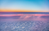 Dusk @ 37.000ft (Denis Roschlau) Tags: clouds cloud dusk sunset afternoon evening inflight flying cruising nightshadow nature naturallight sky skyscape canada colourful colours blue pink cloudformation weather