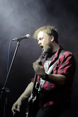 scream (bdnar) Tags: vocalist band scream singer mic guitar concert steam smoke dark scene odwilz