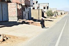 Village in the Sahara (meg21210) Tags: village town berber woman robe veil morocco sahara desert