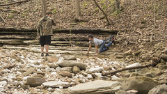 RED02737 (David J. Thomas) Tags: caves caving hiking speleology class students lostvalley edenfalls naturalbridge cobcave edenfallscave waterfall creek stream karst ponca arkansas lyoncollege
