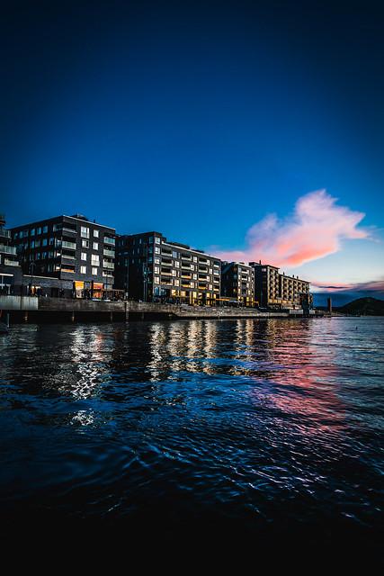 Sørenga area in Oslo