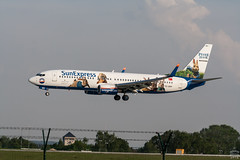 TC-SNY / Boeing 737-8K5 / @ DRS / 2018-04-29 (astrofreak81) Tags: boeing7378k5 boeing b737 sunexpress peterhaselivery hase tcsny plane aircraft drs dresden antalya